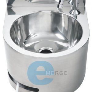 hands free round basin